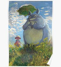 With a Parasol Poster