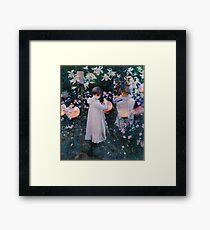 john singer sargent -  carnation, lily, lily, rose Framed Print