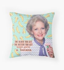 Rose Nylund 2 Throw Pillow