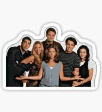 friends cast Sticker