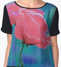 Colors of Spring - Poppies 8 Women's Chiffon Top