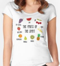 Fruits of the Spirit Women's Fitted Scoop T-Shirt