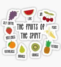 Fruits of the Spirit Sticker