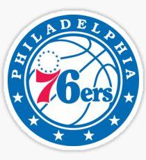 76ers Sticker