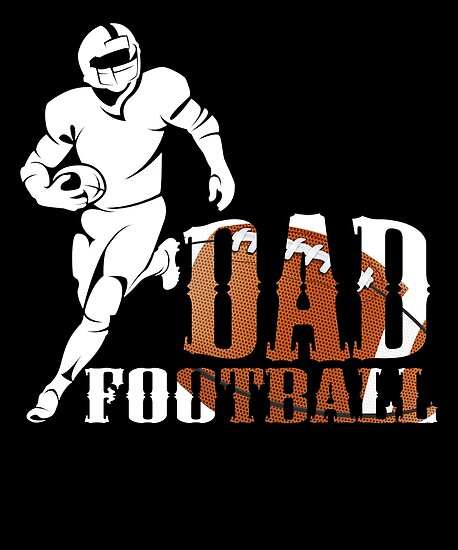 bcebe52eb FOOTBALL DAD T SHIRT FATHERS DAY GIFT (3)