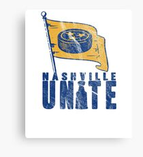 Nashville Hockey Fans UNITE! Canvas Print