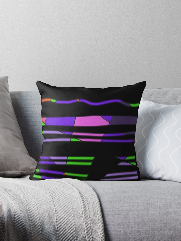 Purple wave design art by ackelly4