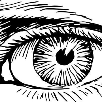 The eye by thrashcan