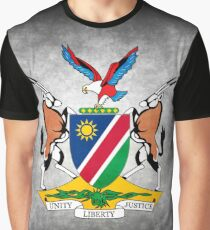 NAMIBIA COAT OF ARMS Graphic T-Shirt