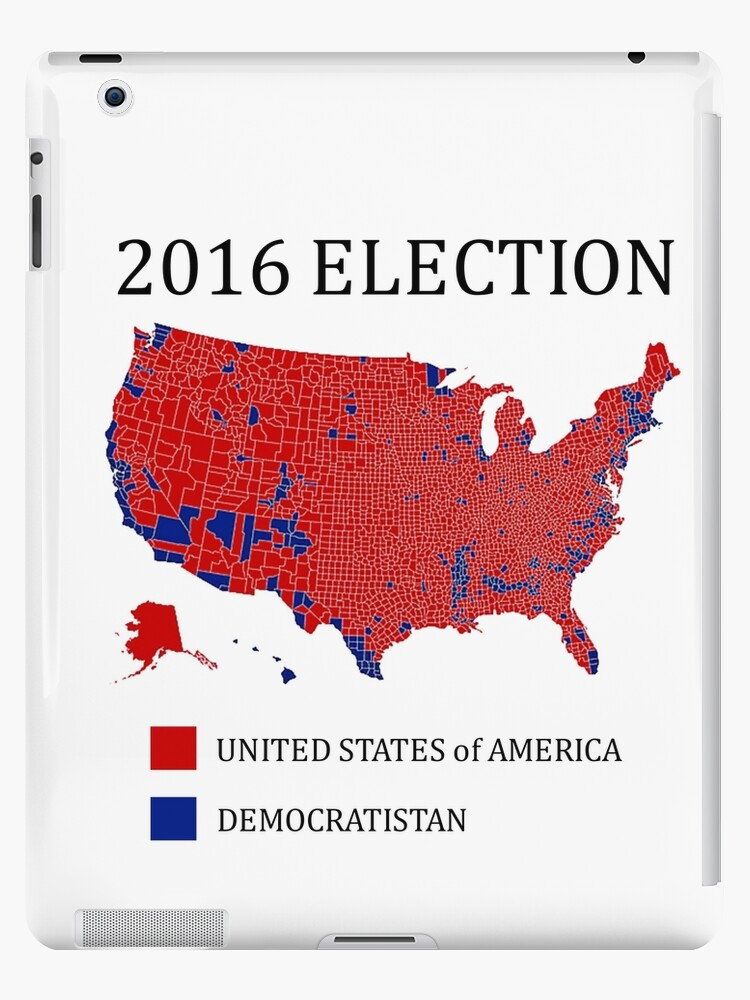 2016 election results map by county by j wilson