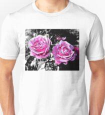 two funky pinkish roses05/22/17 Unisex T-Shirt