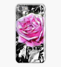 two funky pinkish roses05/22/17 iPhone Case/Skin