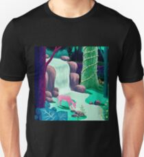 The Whispering Waters of Eventide Vale Unisex T-Shirt