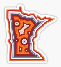 Minnesota Lake Superior Agate Sticker