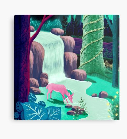 The Whispering Waters of Eventide Vale Metal Print