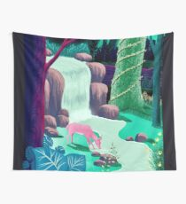 The Whispering Waters of Eventide Vale Wall Tapestry