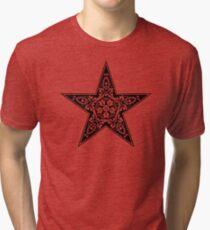 Abstract Star Tri-blend T-Shirt