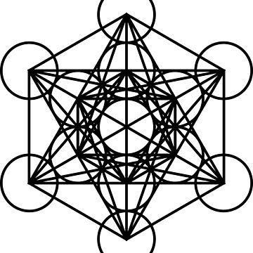 Metatrons Cube - Basic by MindOrchestra