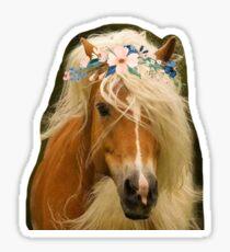 lil sebastian flower crown Sticker