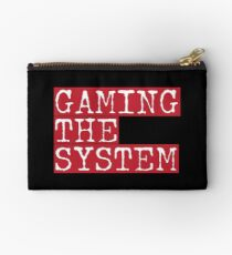 Gaming The System  Studio Pouch