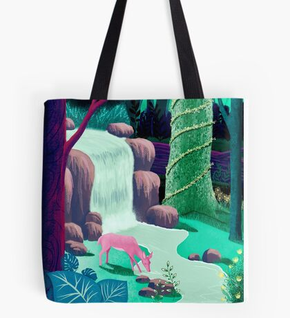 The Whispering Waters of Eventide Vale Tote Bag