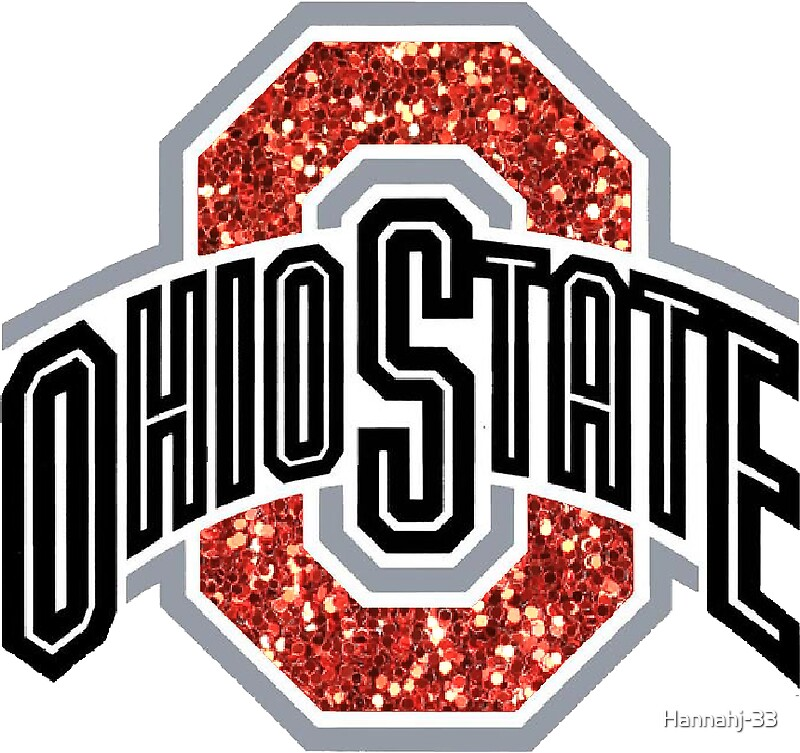 Quot Ohio State University Sparkle Quot Stickers By Hannahj 33