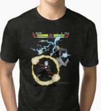 Tesla versus Edison Tri-blend T-Shirt