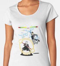 Tesla versus Edison Women's Premium T-Shirt