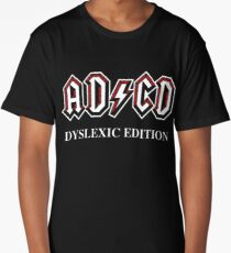 ADCD Dyslexic Edition Long T-Shirt