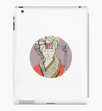 Oriental flower iPad Case/Skin