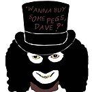 "League of Gentlemen - Papa Lazarou - ""Pegs, Dave?"" by adrienne75"