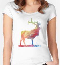 Wapiti Women's Fitted Scoop T-Shirt