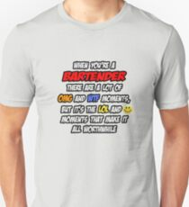 Bartender ... OMG WTF LOL Unisex T-Shirt