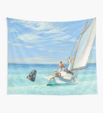 Ground Swell Oil Painting by Edward Hopper Wall Tapestry