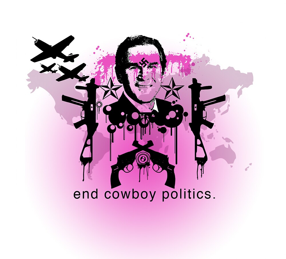 End Cowboy Politics by myles o'leary