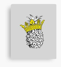 Pineapple Crown Canvas Print