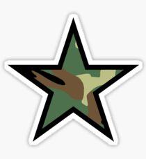 Pegatina Camo Star D
