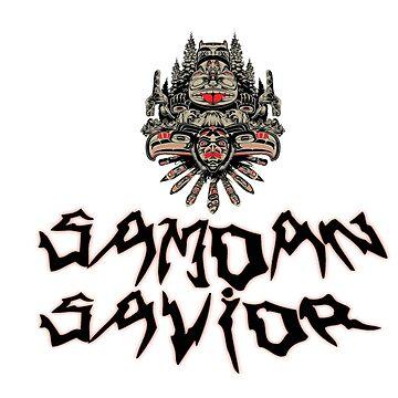 UFBW Samoan Savior Tee by UFBWill
