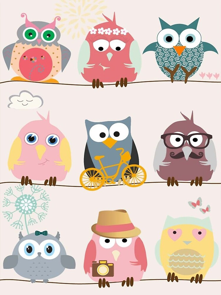 All different owl by ibrahimGhd
