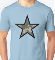Camo Star E Unisex T-Shirt
