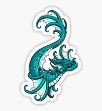 Water Dragon Sticker