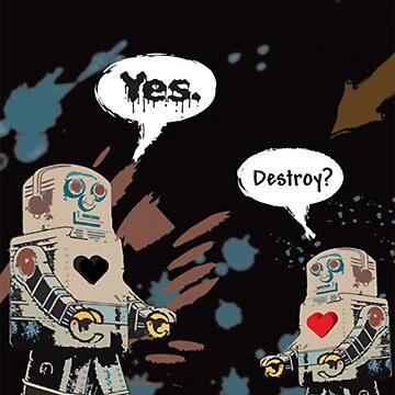 Destroy? by ArtRenegade