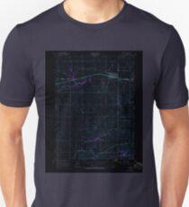 USGS TOPO Map Iowa IA Durant 174570 1953 24000 Inverted Unisex T-Shirt