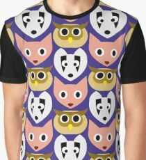 Faces of the Forest Graphic T-Shirt