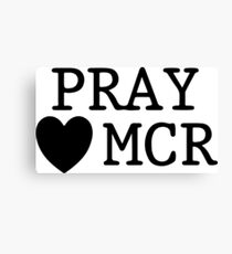 Pray For Manchester - DWT Canvas Print