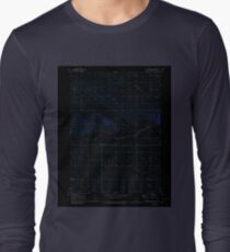 USGS TOPO Map Iowa IA Gladbrook NE 174721 1971 24000 Inverted Long Sleeve T-Shirt