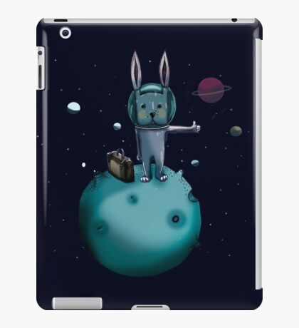 hitchhiking bunny iPad Case/Skin