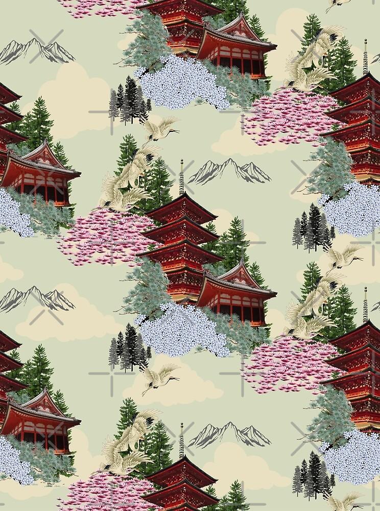 Firefly Pagoda by implexity