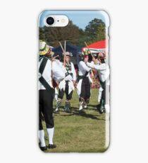 Morris dancers in summer fete iPhone Case/Skin