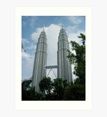 Petronas Towers Art Print